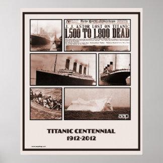 Titanic Centennial Memorial 1912-2012 Print