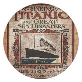 Titanic Dinner Plates