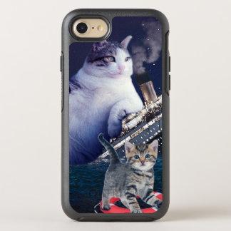 Titanic - fat cat - funny cats - crazy cat OtterBox symmetry iPhone 8/7 case