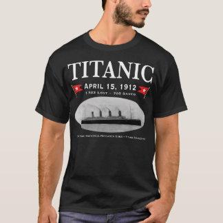 Titanic Ghost Ship Basic Dark T-Shirt