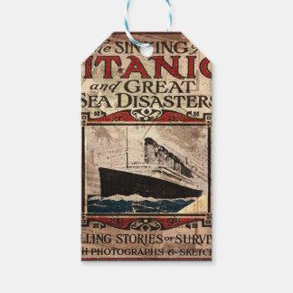 Titanic Gift Tags