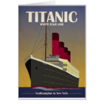 Titanic Ocean Liner Art Deco Print Cards