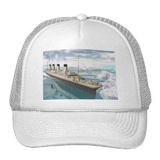 Titanic ship - 3D render Cap