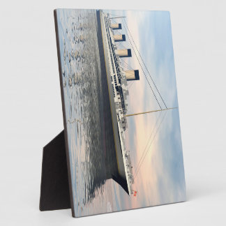 Titanic ship - 3D render Display Plaques