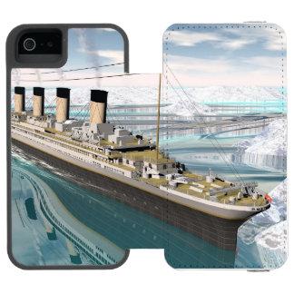 Titanic ship - 3D render Incipio Watson™ iPhone 5 Wallet Case