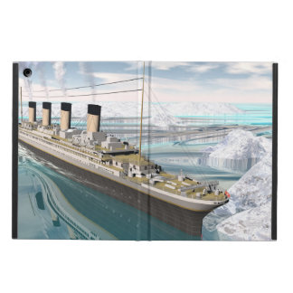 Titanic ship - 3D render iPad Air Case
