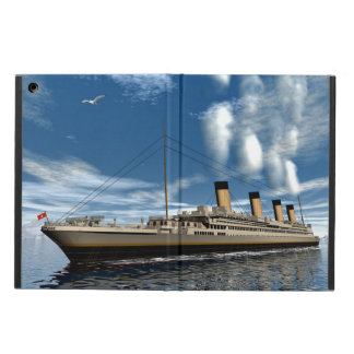 Titanic ship - 3D render.j Cover For iPad Air