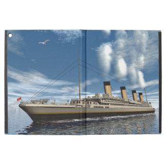"""Titanic ship - 3D render.j iPad Pro 12.9"""" Case"""