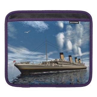 Titanic ship - 3D render.j iPad Sleeve