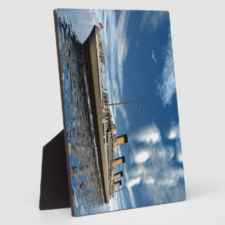 Titanic ship - 3D render Photo Plaques