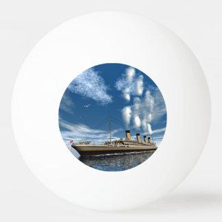 Titanic ship - 3D render Ping Pong Ball