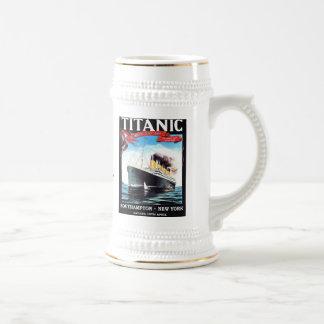 Titanic Ship Beer Mug