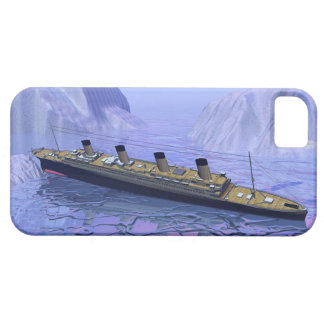 Titanic ship sinking - 3D render Barely There iPhone 5 Case