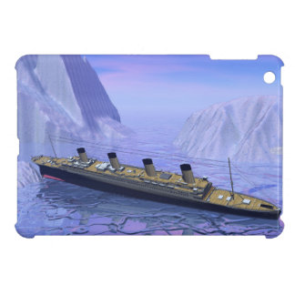 Titanic ship sinking - 3D render Cover For The iPad Mini