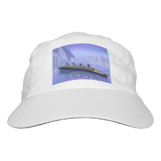 Titanic ship sinking - 3D render Hat