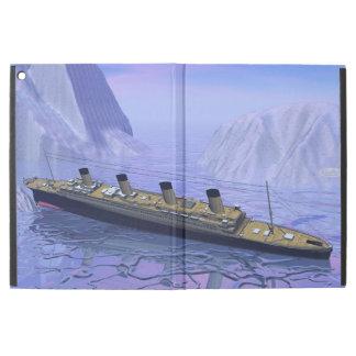 "Titanic ship sinking - 3D render iPad Pro 12.9"" Case"