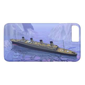 Titanic ship sinking - 3D render iPhone 8 Plus/7 Plus Case