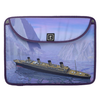 Titanic ship sinking - 3D render Sleeve For MacBook Pro