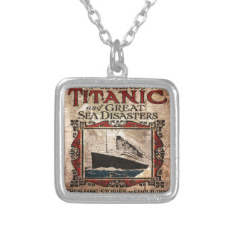 Titanic Silver Plated Necklace