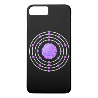 Titanium Atom iPhone 8 Plus/7 Plus Case