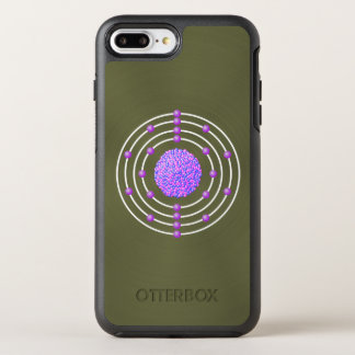 Titanium Atom with Background OtterBox Symmetry iPhone 8 Plus/7 Plus Case