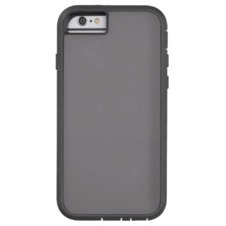 Titanium Color Grey Shade Solid Background Gray Tough Xtreme iPhone 6 Case