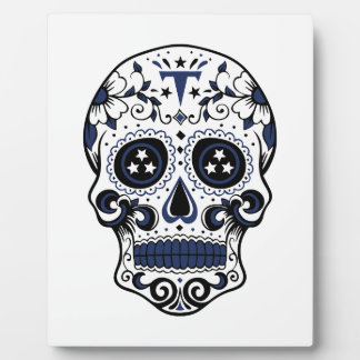 Titans Sugar Skull Plaque