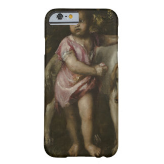 Titian - Boy with Dogs in a Landscape Barely There iPhone 6 Case