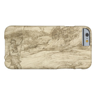 Titian - Landscape with St. Theodore Overcoming Barely There iPhone 6 Case