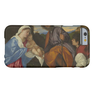 Titian - The Holy Family with a Shepherd Barely There iPhone 6 Case