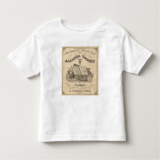 Title Page Alameda County atlas map Toddler T-Shirt