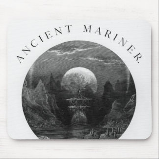 Title page from 'The Rime of the Ancient Mariner' Mouse Pad