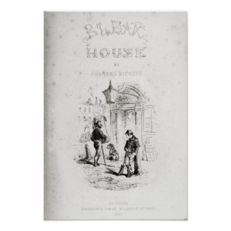 Title page of 'Bleak House' Poster
