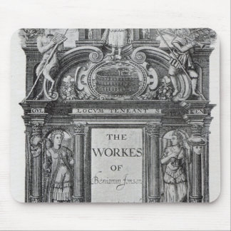 Title page to 'The Works of Benjamin Jonson' Mouse Pad