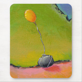 Titled:  Tied  -  fun grounded balloon art Mouse Pad
