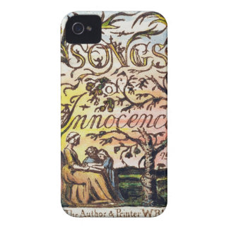 Titlepage from 'Songs of Innocence and of Experien iPhone 4 Cover