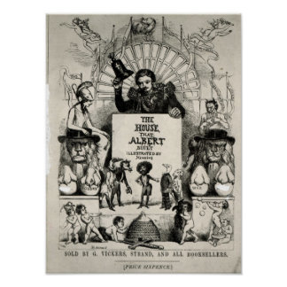 Titlepage from 'The House that Albert Built' Poster