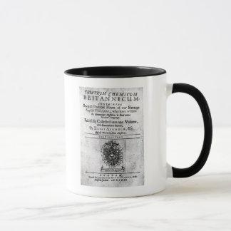 Titlepage 'Theatrum Chemicum Britannicum' Mug