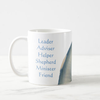 Titles of a Pastor, Seashell Template Coffee Mug