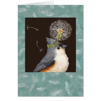 titmouse card