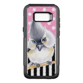 Titmouse Pink Polka Dot OtterBox Commuter Samsung Galaxy S8+ Case