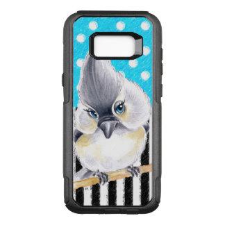 Titmouse Polka Blue OtterBox Commuter Samsung Galaxy S8+ Case