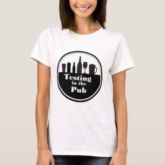 TITP ladies white t-shirt