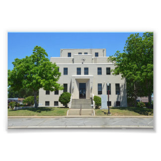 Titus County Courthouse, Mount Pleasant, Texas Photo Print