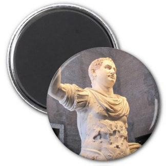 Titus Flavius Vespasianus - Roman Emperor 6 Cm Round Magnet