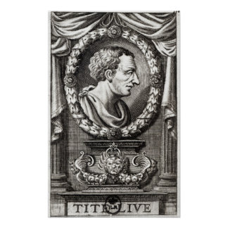 Titus Livius known as Livy Poster