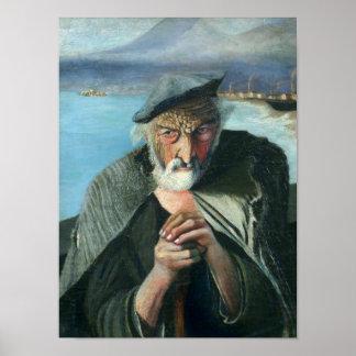 Tivadar Csontváry Kosztka The Old Fisherman Poster