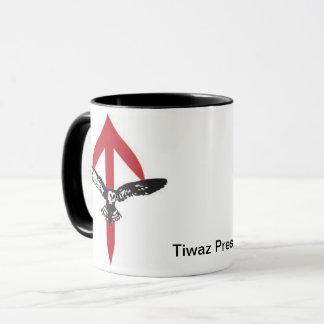 Tiwaz Press Coffee Mug