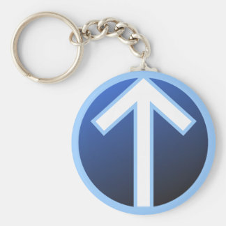 Tiwaz Teiwaz Tyr Warrior Rune Key Ring