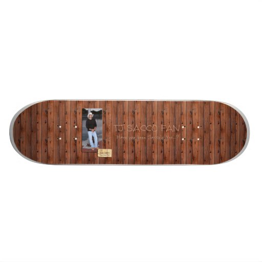 TJ Sacco Fan Skateboards